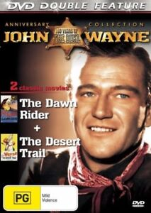 Desert Trail + Dawn Rider DVD John Wayne Movie - SAME / NEXT DAY free POSTAGE