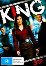 KING (COMPLETE SEASON 1 - DVD SET SEALED + FREE POST)