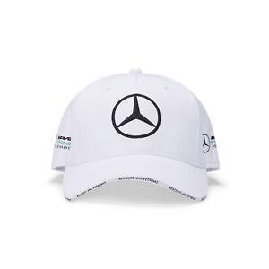 Mercedes AMG Petronas 2020 Team Summer Baseball Style Cap - White - Mens