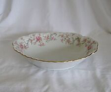 Lorenz Hutschenreuther Germany Richelieu Oval Vegetable Bowl #7658