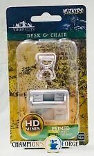 Wizkids Deep Cuts Desk & Chair ~ Sealed ~ Dungeons & Dragons Pathfinder Battles