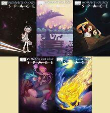 WOMANTHOLOGY SPACE #1 2 3 4 5 1st print set IDW COMIC 2013 Renae De Liz heroic