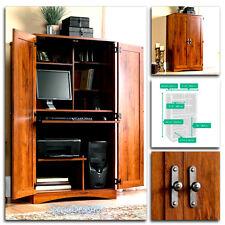 Sauder Computer Desk Storage Furniture Armoire Home Office Workstation Hutch NEW