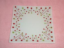 Partylite Merry Christmas Candle Garden Tray - Holiday!