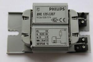 Philips BHL 125 L307 Magnetic Ballast for 125w HPI HPL Sodium Mercury Lamps