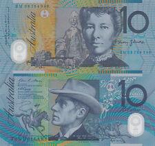 Australia 10 Dollars (2008) - Horserider/Ox Cart/p58e UNC