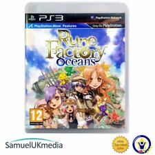 Rune Factory Oceans (PS3) **GREAT CONDITION**