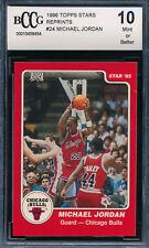 1996 Topps 1985 STAR RETRO Michael Jordan Rookie Basketball Card GRADED BCCG 10