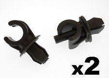 2x VW Schwarzer Kunststoff Haubenstütze Halter Clips- Klammern zu Fronthaube Rod