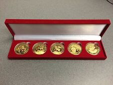 Seminole Hard Rock Tampa 5 gold coin set given as gift to High Limit Players