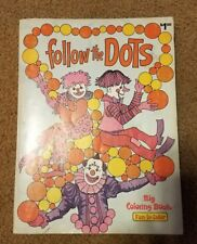 Follow the Colors - vintage coloring book