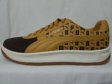 Puma GV Special Tennis Shoes Size 10, Men's Wheat & Chocolate Brown 36842801