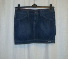 Ladies BENCH 'SYDNEY' casual blue denim mini skirt size S great co LOVELY