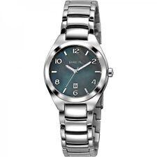 OROLOGIO BREIL PRECIOUS TW1377 watch madreperla nero watch steel acciaio numeri