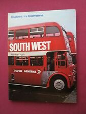 Buses in Camera Southwest Norman Aish 1977  HBDJ book