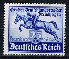 Germany WW2 Hamburg Horse Race 1940 MLH #B172 $18