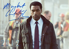 CHIWETEL EJIOFOR Signed 12X8 Photo 12 YEARS A SLAVE & AMERICAN GANGSTER COA