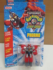 ROBOT TRANSFORMERS  SUPERHUMAN  SAMURAI SYBER-SQUAD  PHORMO  PLAYMATES  IDEAL