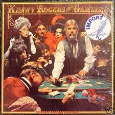 KENNY ROGERS The Gambler US Press LP
