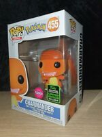 Funko Pop Charmander Flocked Pokemon 2020 Spring Convention Exclusive Nr. 455