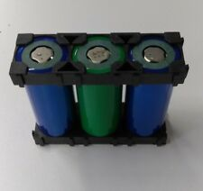 80 pc 26650 Battery 1x3 Cell Spacer Radiating Shell Plastic Holder Bracket Clip