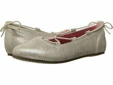 NIB STRIDE RITE Shoes Ballet Flats Julia Champagne Gold 7 7.5 8 M
