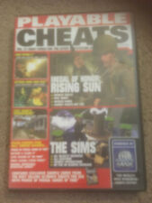 PS2 ~ Playable Cheats Vol.14 by Action Replay ~ Medal of Honor / The Sims etc.