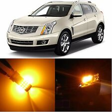 Alla Lighting Front Signal Light 3757NA Amber LED Bulbs for 2004~09 Cadillac SRX