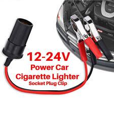 Encendedor De Cigarrillos para Coche 12V Enchufe todas CONECTAR Cocodrilo Clip de la motocicleta