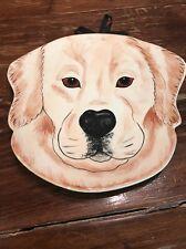 Plate Hanging Darcy Rescue Me Now Ceramic DARCY Pavilion Dog Nina Lyman Puppy