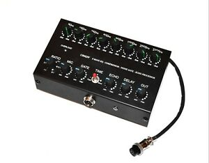 Ranger RCI 2950 2970 2995 CB radio 8 Band Microphone Sound EQ Noise Gate 6pin