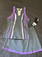 Nwt Women'S Authentic Bolle Tennis Golf Running Outfit Top & Skirt Size Xs