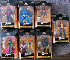 Marvel Legends X-Men Caliban Wave BAF Beast Jubilee Weapon X Gambit Forge + More
