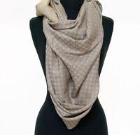 Reversible Large Silk  Wool Jamavar Shawl Grey-on-Grey & Gold Pashmina Paisley
