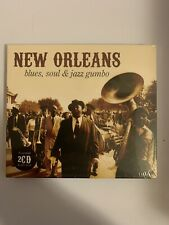 New Orleans Blues Soul & Jazz Gumbo - CD New Sealed