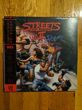 Streets of Rage II 2 Video Game Soundtrack Frosted Clear Vinyl LP Record 2x180g