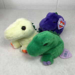 Vintage Puffkins Plush Lot Rare w/ Tags Dinky, Pickles, Danny