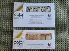 COLOR STREET NAIL STRIPS - PAWS FOR THE CAUSE + PARTY PAWS **RETIRED RARE HTF**