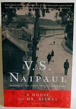 A House for Mr Biswas V S Naipaul PB 46 years life fiction book Trinidad pb
