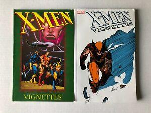 X-Men Vignettes Vol 1+2 Paperback TPB/Graphic Novel Lot Set Marvel Claremont