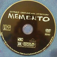 Memento dvd Disc Only, No Usps Tracking!