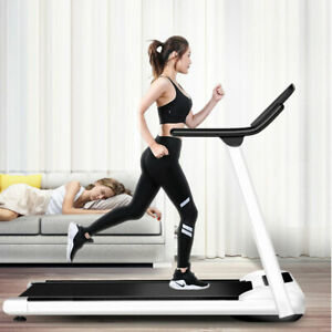 Electric Treadmill Running Belt Screen Portable Folding Fitness Machine Indoor