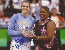 Allie Quigley signed Chicago Sky 8x10 photo autographed WNBA 4