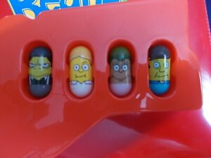 Mighty Beanz The Simpsons 4 Bean Lot #27 Moe, #37 Martin, #23 Skinner & 1 More!