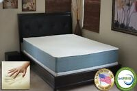 "Casper Williams 12"" Cloud Gel Memory Foam Mattress King Size Optimum Sleep Model"