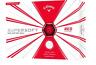 CALLAWAY SUPERSOFT RED 1 DOZEN GOLF BALLS - NEW 2019 BALL - VALUE PLUS!