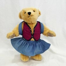 """Miss A.G. Bear, American Girl/Pleasant Company, 16"""" Jointed Plush Back Pack"""