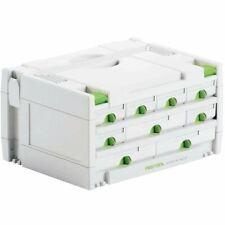Festool SORTAINER SYS 3 SORT 9 491985 SYSTAINER mit 9 Schubladen