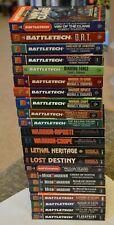 Battletech Novels Books Multi Listing Mechwarrior