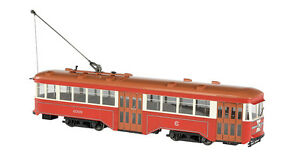 Bachmann G-Scale 91704 Chicago Surface Lines Peter Witt Streetcar 1:29th Scale